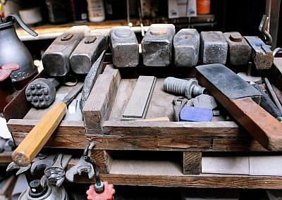 Werkzeuge für die Arbeit am Stein