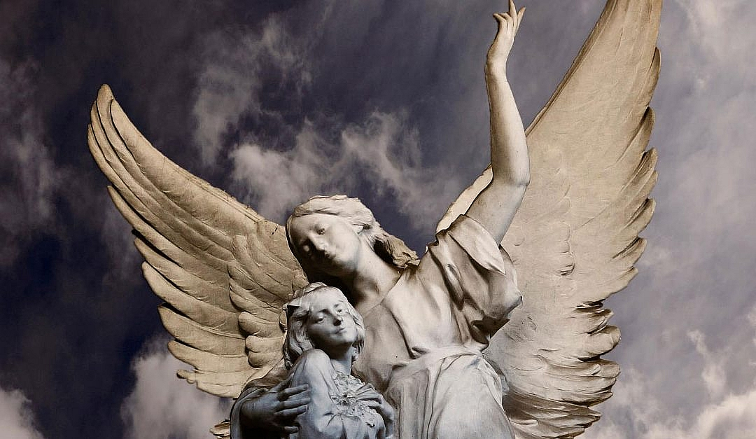 Die Leichtigkeit des Fliegens – Oder: Warum Engel so himmlisch-leicht trösten können
